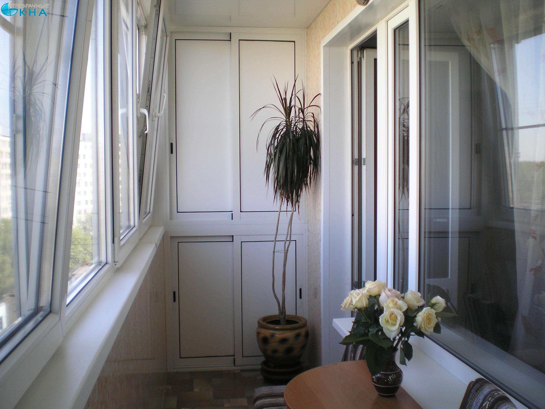 Варианты отделки балкона и лоджии: фото и видео.