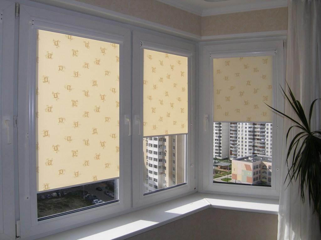 Ролеты из ткани на окна своими руками 48